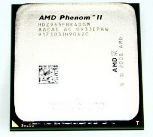 phenom II X4 965 Black edition 4.2Ghz  4