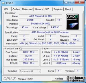 phenom II X4 965 Black edition 4.2Ghz