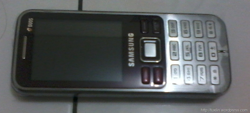 Samsung GT C3322 Wine Red