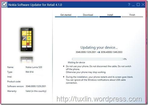 Update Noka Lumia 520_11